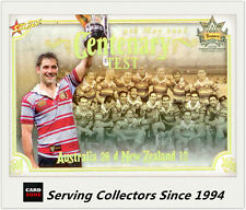Select NRL Limited Edition Case Card: 2008 NRL Centenary CC15 Test Winner: Aust.