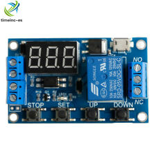 Micro USB 5V Digital LED Trigger Delay Cycle Timer Control Switch Relay Module
