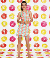 Lilly Pulitzer Pearl Sunrise Crochet Floral Truly Petal Lace Shift Dress M 8