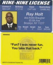 Ray Holt aka Andre Braugher Brooklyn Nine Nine fake ID i.d card Drivers License