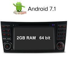 7'' Android 2GB RAM GPS DVD CD Autoradio Mercedes Benz E G CLS Class W211 W219
