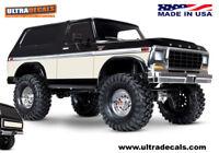 Cream color Traxxas TRX-4 Bronco Body Skin Wrap Decal TRX4 Ultradecals