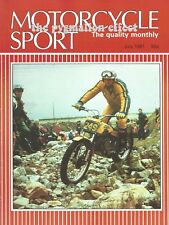 Motorcycle Sport Magazine July 1981 - R100CS BMW R100RT Yamaha TR1 BMW R80GS GS