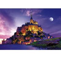 Jigsaw Puzzle 2000 Small Pieces - Mont Saint Michel (49x72cm)