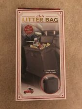 Auto Trash Bag Car Garbage Can Litter Holder - Easy Clean Leak-proof