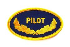 Navy Pilot Oval Scrambled Eggs Embroidered Military Patch Iron Sew AKPM161