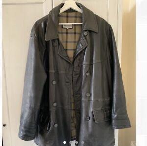 Giorgio Armani Genuine Vintage Leather Jacket