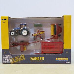 Ertl New Holland Haying Set  1/64 Scale NH-13861-B5