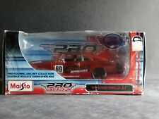 Maisto 1969 Dodge Charger R/T Coupe Pro Rodz Hemi 1:24 Scale Diecast Race Car