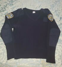 NYPD Extra Large Military Commando Sweater XL New York City Police Department