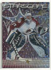 Patrick Roy 1999-00 SPx Colorado Avalanche Starscape Hockey Insert Card #S 9