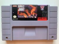 Barkley Shut Up & Jam! SUPER NINTENDO SNES GAME Tested + Working & Authentic!