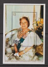 Queen Mother 80th Birthday 1980 MNH Stamp Sheet Niue $3