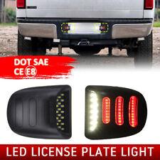 Rear License Plate LED Light Fit Chevrolet Silverado GMC Sierra 1500 2500 99-13