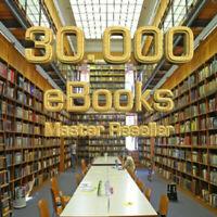 30.000 Ebooks - inklusive Master Reseller Lizenz