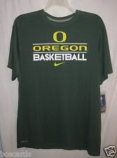 Nike Dri Fit Oregon Ducks Team Practice Basketball T Shirt Noble Green Xl Nwt