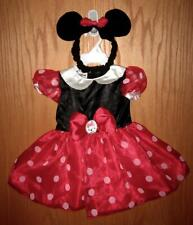 NWT Disney MINNIE MOUSE Infant Baby Girls Red Halloween Costume 9-12 Months 9 12
