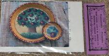 "Peasantries Mary Tiner ""Dark Cherries on Terra Cotta"" Tole Painting Pattern Pack"