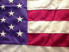 15x25 Us American Flag Strongest Made Embroided Poly Us Material & Us Labor