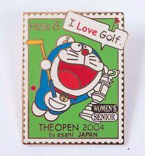 Doraemon 2004 The Open Championship TV Asahi Media Pin Tokyo Japan