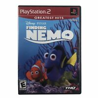 Finding Nemo (Sony PlayStation 2, 2003) Complete w/Manual CIB