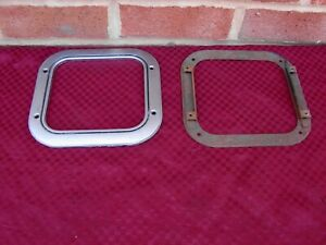 68-72 CHEVELLE SS BENCH SEAT NON CONSOLE 4 SPEED SHIFTER BOOT BEZEL & RETAINER
