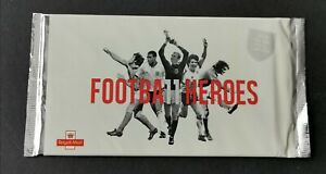 GB 2013 FOOTBALL HEROES PRESTIGE BOOKLET IN ORIGINAL SEALED FOIL WRAPPER.