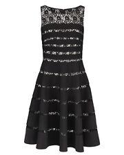 Anthea Crawford Black & Ivory Dress | Size 18 | BNWT | RRP $499