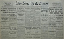 3-1930 March 6 DRYS PORTRAY PROHIBITION EDISION FORD. TARN FLOODS 300 KILLED.