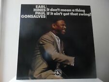 EARL HINES & PAUL GONSALVES - IT DON'T MEAN A THING- BLACK LION-30153-MINT- NEW
