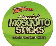 Murphys Mosquito Incense Sticks One Can of 12 DEET FREE 100% All Natural
