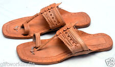 MEN US 9,10 n 11 HANDMADE LEATHER SANDAL SHOES RAJASTHANI INDIAN STYLE SHOES