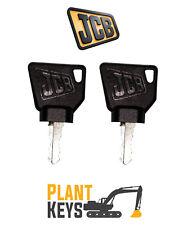 JCB & Bomag (Set of 2) Excavator Keys