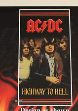 ACDC Highway To Hell Printed Jumbo Cotton Velour Beach Towel 88cm x 178cm New