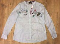 Desigual Style 29C2201 ladies womens shirt blouse size S