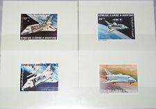 MAURITANIA MAURETANIEN 1981 715-18 C202-05 Deluxe Columbia Space Shuttle MNH