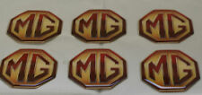 6 x MG Rover Badges Self Adhesive MGS ZR ZS ZT MGB V8 6 badges per pack Decals
