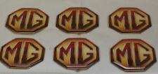 6x MG Rover abzeichen Selbstklebend MGS ZR ZS ZT MGB V8 6 Abzeichen