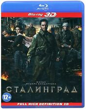 Сталинград 3D (Blu-ray 3D, 2013) , Stalingrad 3D BRAND NEW!!! ONLY RUSSIAN!!!