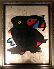 "Joan Miro ""Affiche Pour L'Exhibition"" Color Lithograph Hand Signed"