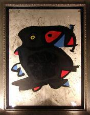 """Joan Miro """"Affiche Pour L'Exhibition"""" Color Lithograph Hand Signed"""