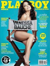 (D) PLAYBOY MEXICO VANESSA BAUCHE FEBRERO 2012 PLAYBOY MEXICAN EDITION FEB 2012