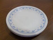 CORELLE DINNERWARE MORNING BLUE SET OF 4 DESERT PLATES