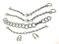STAINLESS STEEL HORSE BIT CHAIN SET CADENILLAS PARA FRENO ACERO INOXIDABLE