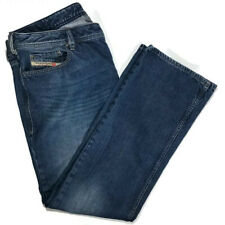 Diesel Mens Jeans Size 38x32 Zatiny Boot Cut Medium Wash Cotton Jean