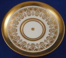 Antique 19thC Meissen Porcelain Superb Gold Trim Saucer Porzellan Untertasse