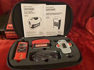 Craftsman 4-in-1 Laser Level-Laser Trac w/ Zippered Case Model 948255