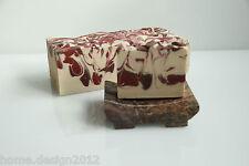 Handgemachte Schafmilchseife MANDEL Naturseife ca 90 g aus der Seifenmanufaktur