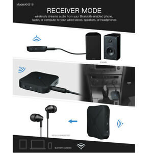 Wireless Bluetooth4.2 Audio Transmitter Receiver HIFI Music/Adapter RCA AUX 2in1
