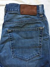 Tommy Hilfiger 31 x 29 Premium Jeans Straight Leg Distressed Medium Wash See Des